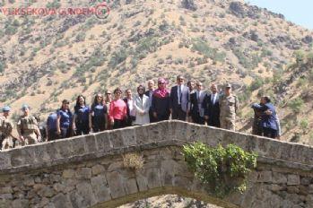 Kültür ve Sanat Politikaları Kurulu üyeleri Şemdinli 'de