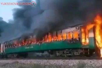 Yolcu treninde yangın! 62 ölü