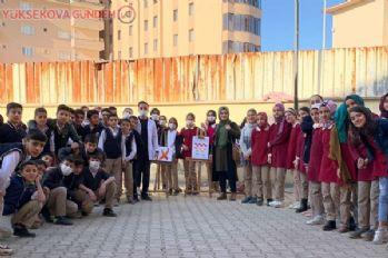 Yüksekova'da 'Lösemi Değil, İyilik Bulaşıcıdır' etkinliği