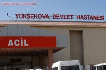 Yüksekova'da hastane doldu taştı!