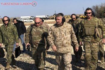 ABD'li komutan McKenzie YPG'li Mazlum Kobani ile görüştü