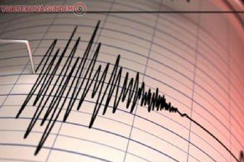 İran'da deprem! Deprem Yüksekova'da da hissedildi