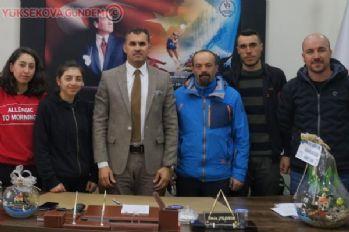Yüksekovalı kayaklı koşu sporcuları,Bitlis'ten 14 madalya ile döndü