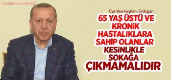 Cumhurbaşkanı Erdoğan'dan koronavirüs hakkında uyarılar