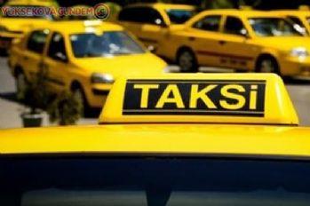 Taksilerde çift ve tek plaka uygulaması başladı