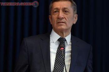 Milli Eğitim Bakanı Ziya Selçuk'tan yaz tatili açıklaması!