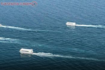 Van'da batık tekne ve içindekiler gölün 140 metre altında aranıyor!
