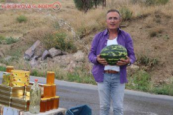 Hakkari karpuzu Diyarbakır'a rakip oldu