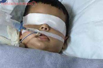 Yediği fasülye boğazına kaçan çocuk hayatını kaybetti