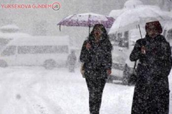 Meteoroloji Van için kar yağışı uyarısı yaptı