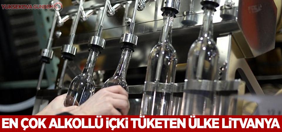 En çok alkollü içki tüketen ülke Litvanya