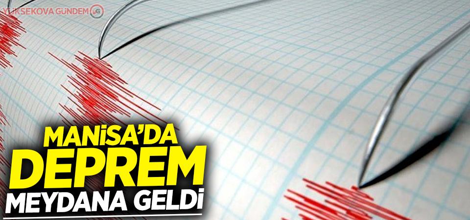 Manisa da 3.6'lık depremle sarsıldı