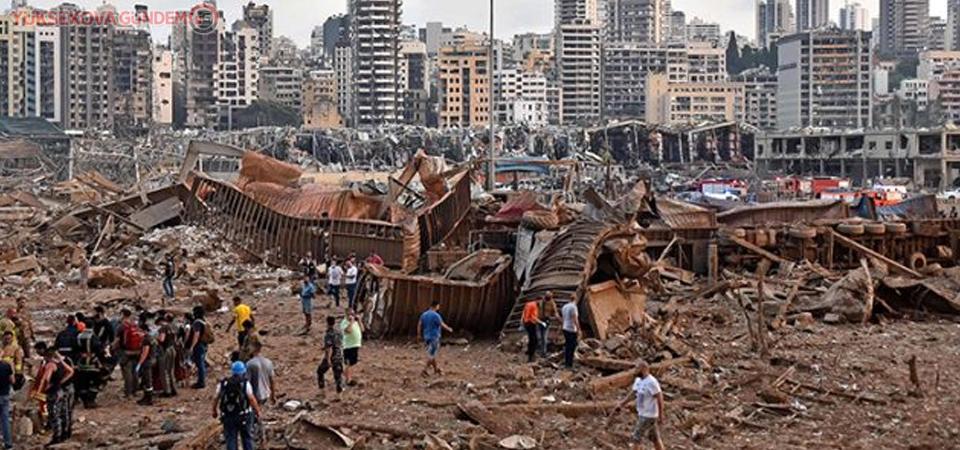 Lübnan'daki patlamada ölü sayısı 135'e ulaştı